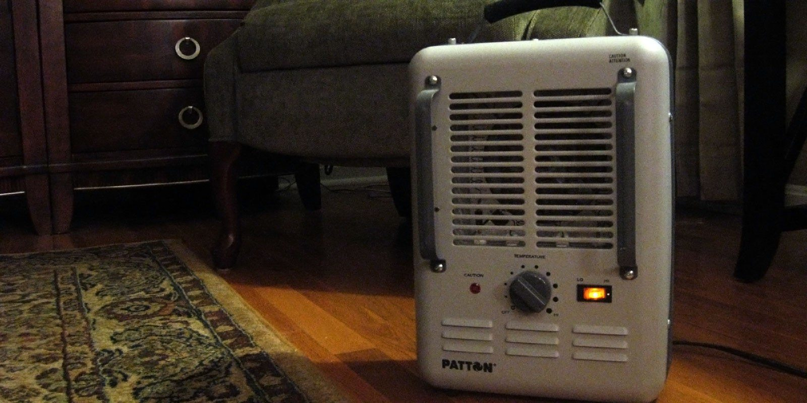 Supplemental Heating-Space Heater