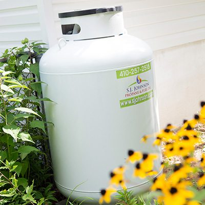 SJ Johnson Propane Tank