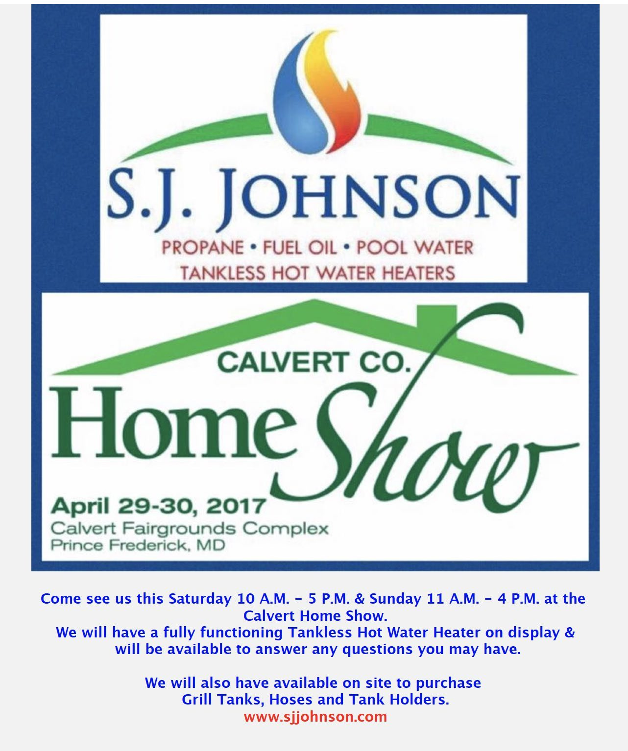 propane company to have a booth at the home show