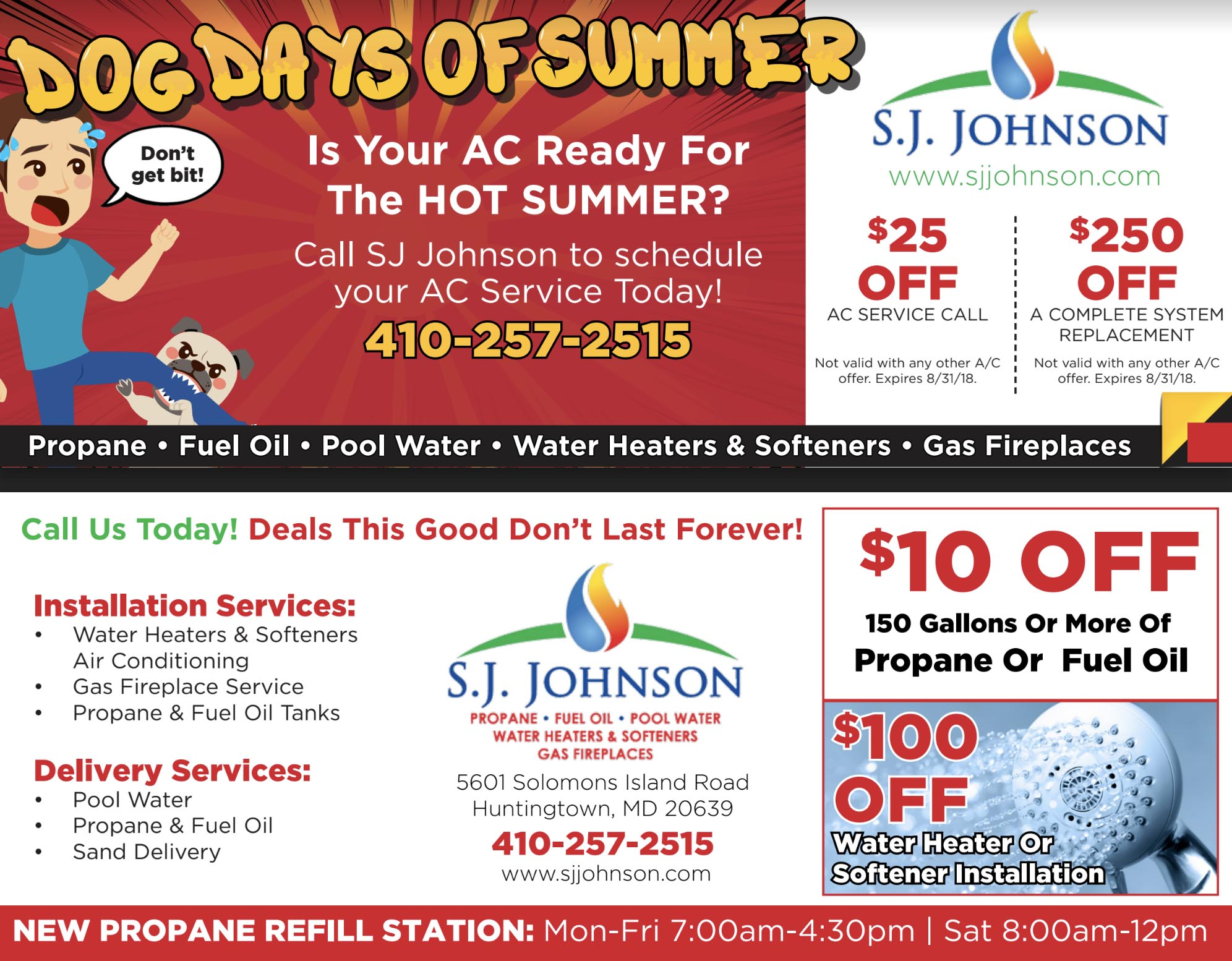 air conditioning specials in Southern MD