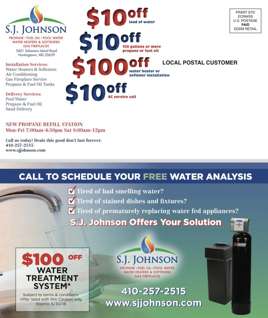 Water treatment system coupon