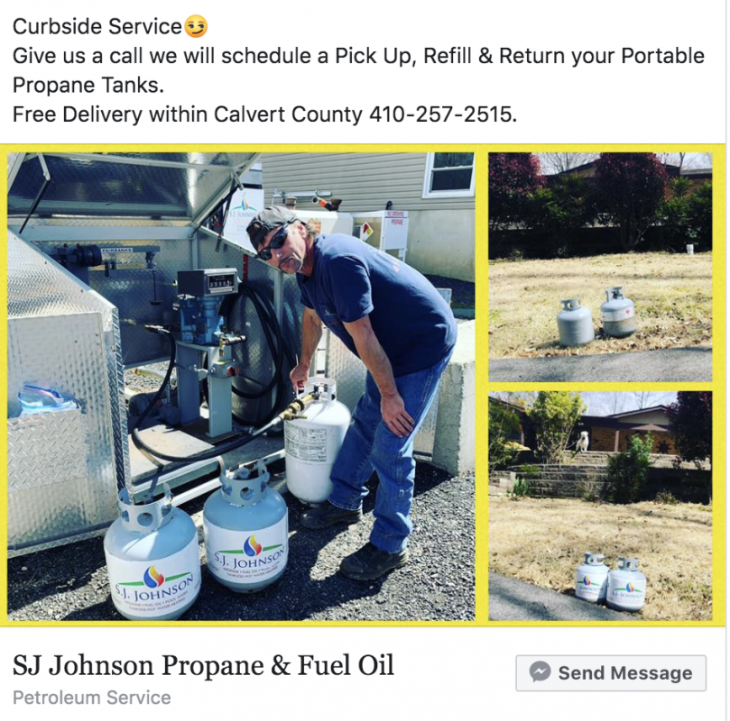 propane curbside service